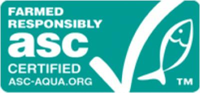 ASC認証マークが付いているの画像