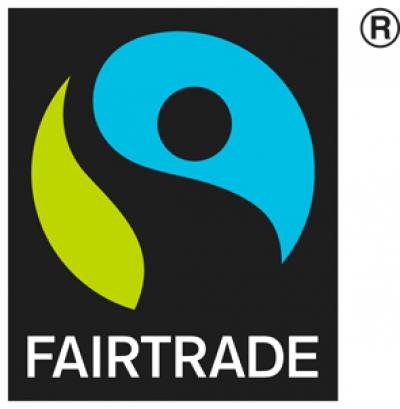 国際フェアトレード認証ラベルが付いているの画像