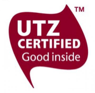 UTZ認証マークが付いているの画像